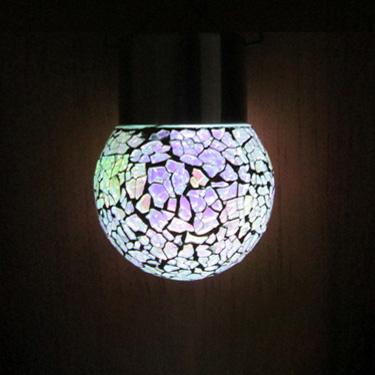 Llums de mosaic colgantes solars