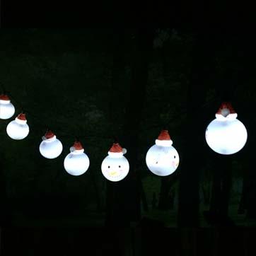 Llum de corda de festa de Nadal
