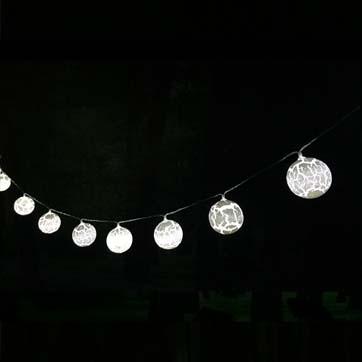 Llum de corda de bola solar