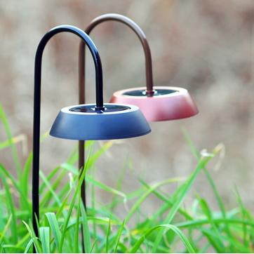 llum solar del jardí
