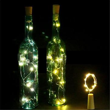 ampolla de suro corda de llum
