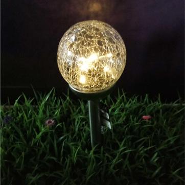 bola de vidre solar llum de corda